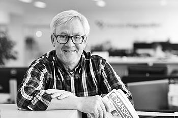Jesper B. Nielsen : Chefredaktør, Transportmagasinet